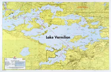 E13 Lake Vermilion East Fisher Maps