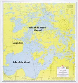 E 22 Lake Of The Woods Fisher Maps