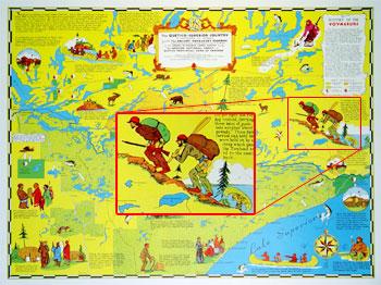 C-1: Old Voyageurs Highway Map