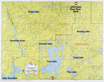 F-8: Lake Vermilion, Trout Lake, Vermilion River, Bootleg Lake Map Of Rivers And Lakes Mn on large minnesota map lakes rivers, minnesota lakes and rivers, just minnesota map with rivers, map of all lakes mn,